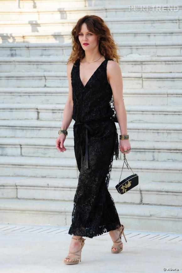 """Vanessa Paradis, bientôt au cinéma dans """"Fading Gigolo""""."""
