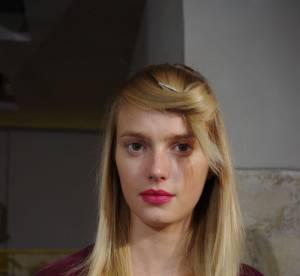 Beauté : dans les backstages du défilé Rue du Mail