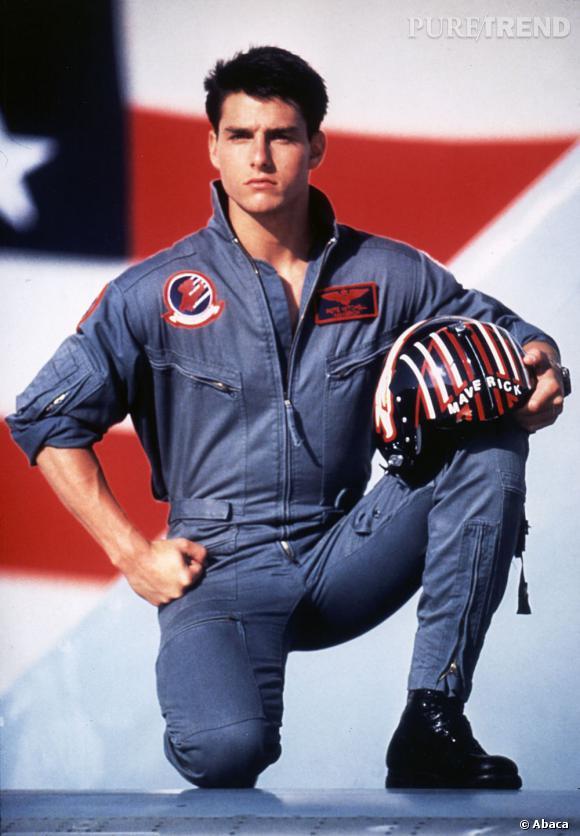 """Aujourd'hui la côte de popularité de Tom Cruise n'est pas au plus haut. Il est loin le beau brun de """"Top Gun"""" !"""