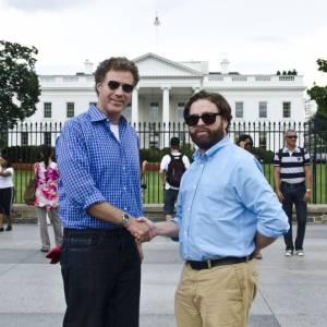 """Zach Galifianakis et Will Ferrel pour """"Moi Député""""."""