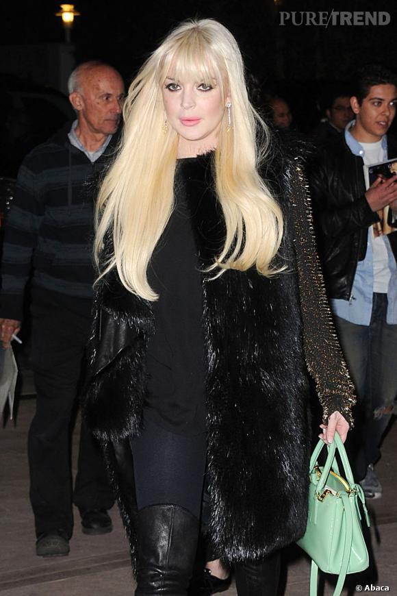 Lindsay Lohan aurait été aggressée dans sa chambre d'hôtel à New York ce week-end.
