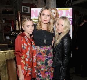 Elizabeth Olsen : ''Je vole souvent les vêtements de Mary Kate et Ashley''