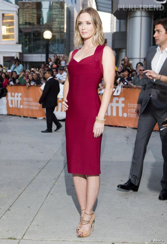 """Emily Blunt sera-t-elle Miss Marvel dans """"The Avengers 2"""" ? En tout cas, elle est déjà blonde grâce au film """"Looper""""..."""