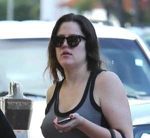 Khloe Kardashian : avec ou sans maquillage... ce n'est pas la même chose !