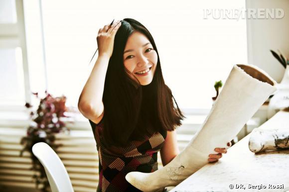 L'artiste chinoise Peng Wei.