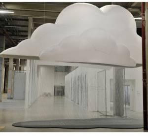 FIAC 2012 : Le nuage de cristal de Fabrice Hyber