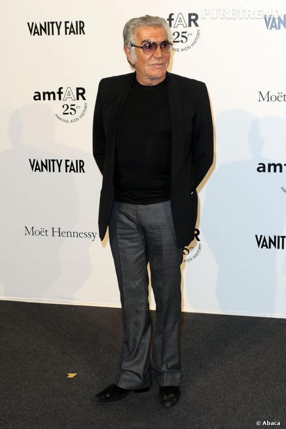 Roberto Cavalli, grand nom de la mode, aimerait inscrire sa signature dans la ligne du maquillage.