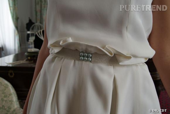 ceinture avec perles regroup es pour donner du peps une taille tr s romantique puretrend. Black Bedroom Furniture Sets. Home Design Ideas