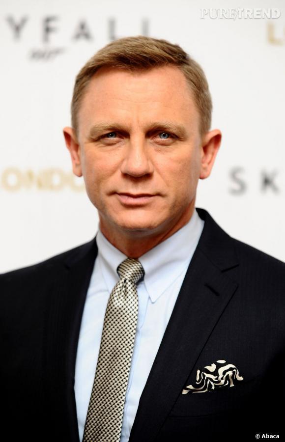Daniel Craig a évidemment fait monter la température  avec son apparition très chic.