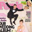 """Le top """"avec Justin"""" :  Jessica et Justin posent pour  People , parfaits !"""