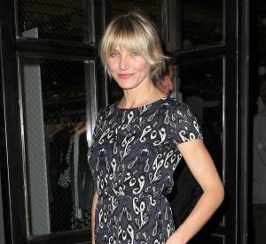 Cameron Diaz, son look de quadra canon... A shopper !