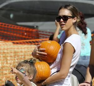 Halloween 2012 : Jessica Alba, Heidi Klum, Mila Kunis à la chasse aux citrouilles