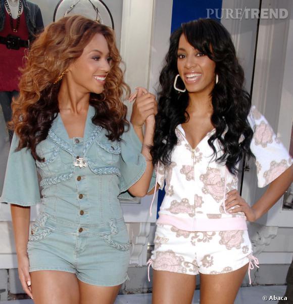 Beyoncé Knowles et Solanges Knowles : le girls power.