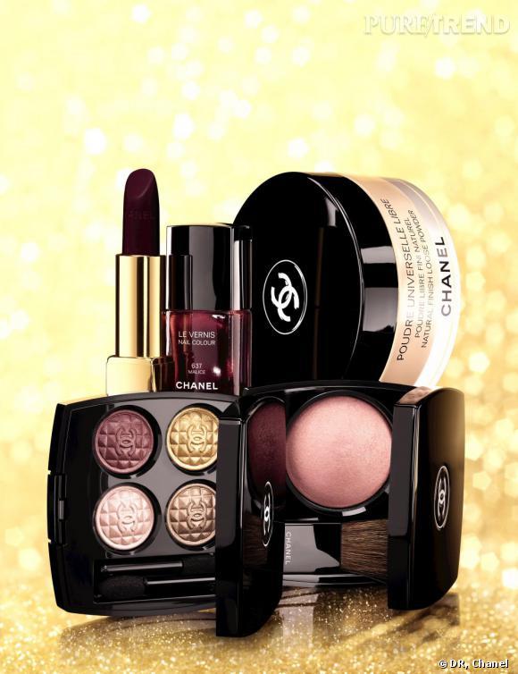 La Collection Eclat du Soir de Chanel fait honneur à la couleur culte Rouge Noir.