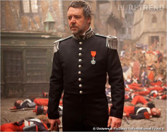 Russell Crowe se transforme en méchant Javert.