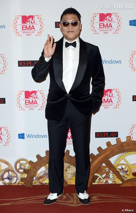 Le chanteur Psy a gagné le prix du meilleur clip.