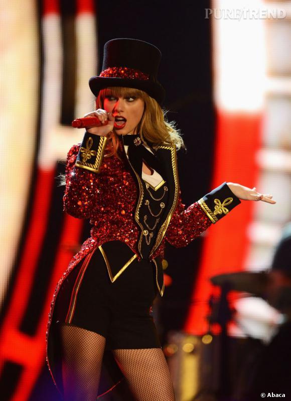Taylor Swift, artiste féminine de l'année, artiste live et meilleur look : trois prix pour la jeune femme !