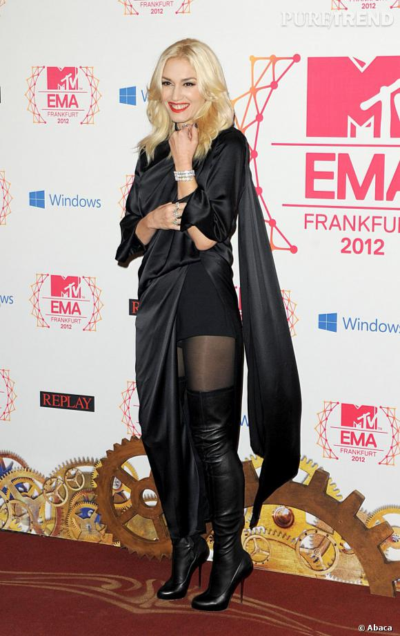 Gwen Stefani, l'audace d'une jolie blonde.