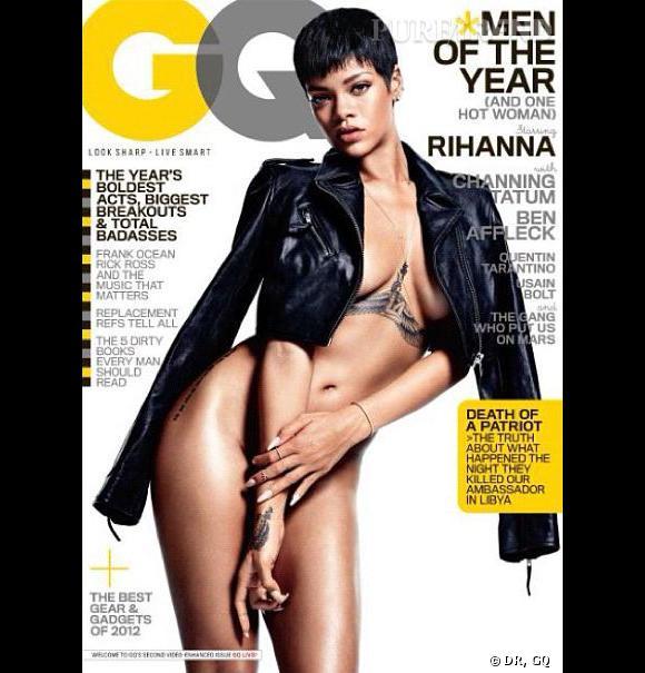 Rihanna, sexy et nue pour GQ.