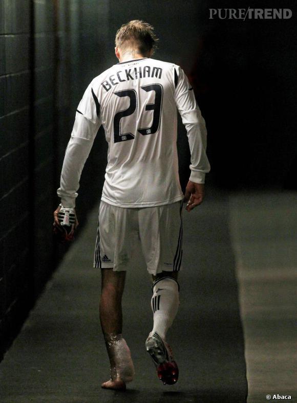 David Beckham a annoncé qu'il quitterait le club des LA Galaxy après le match du 1er décembre...