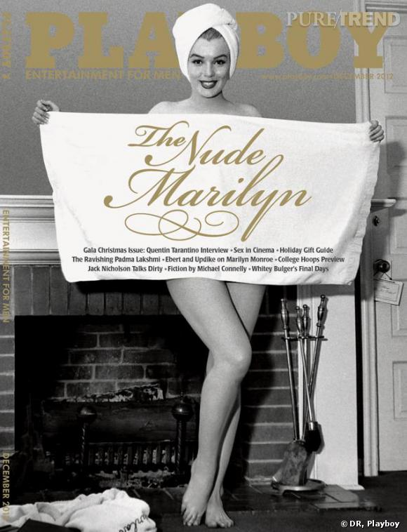Marilyn Monroe, invitée d'honneur du Playboy du mois de décembre 2012.
