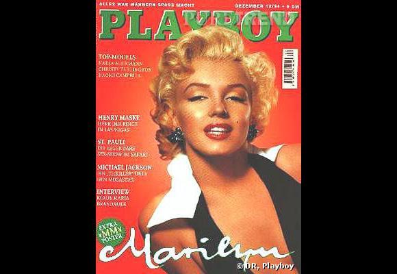 Marilyn Monroe a fait plusieurs couvertures pour Playboy.