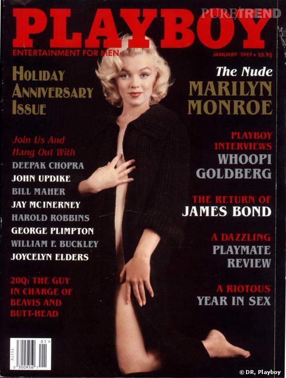Marilyn Monroe, la muse de Playboy.