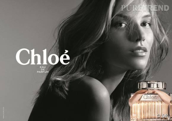 Suvi Koponen est la nouvelle égérie de parfum Chloé.