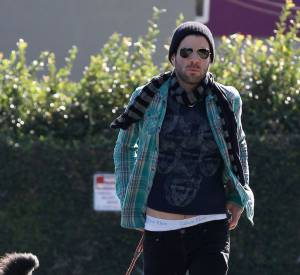 Zachary Quinto, mode même dans la rue.