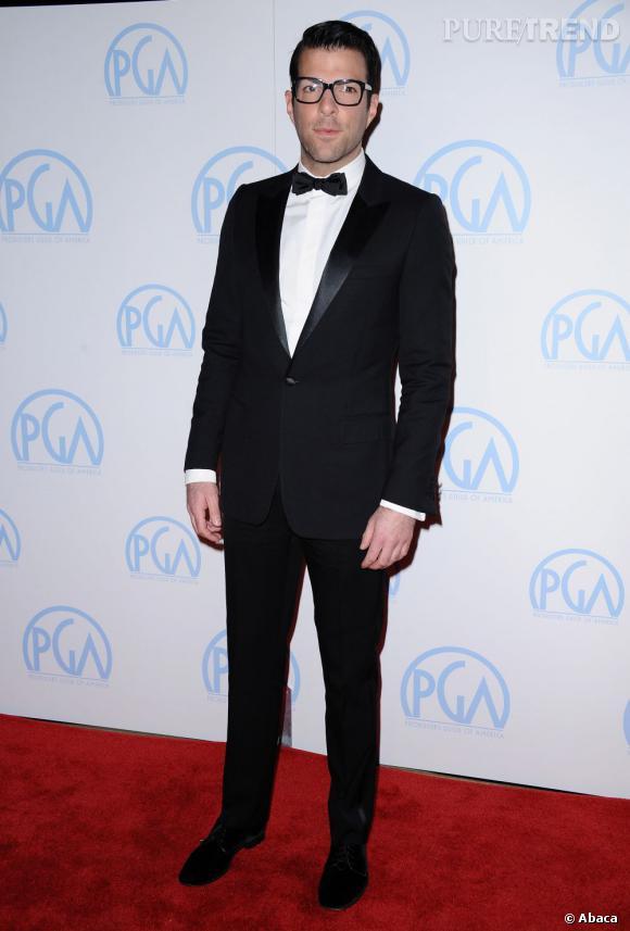 Zachary Quinto, un acteur au physique atypique.