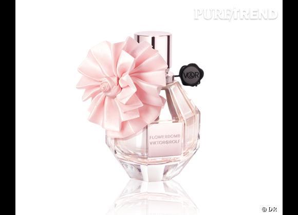 Le must have de Marijke bis      Parfum Flowerbomb édition Noël 2012, collector Couture, Viktor & Rolf,  88 €