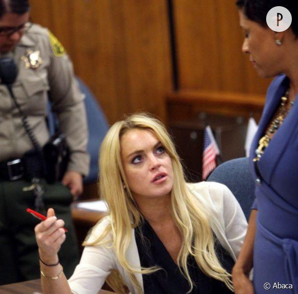 Lindsay Lohan pense être victime d'un piège.