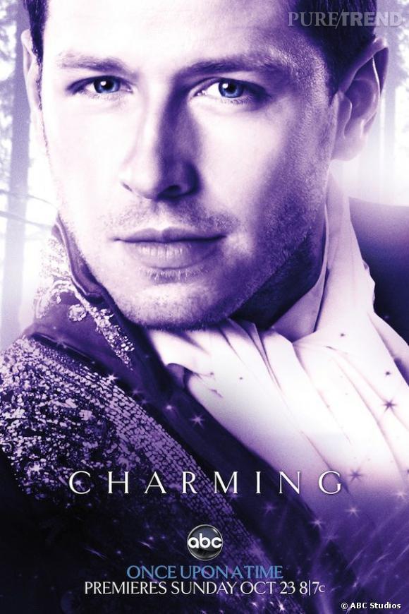 Josh Dallas joue le Prince Charmant, plutôt inutile au début de la saison puisque dans le coma.