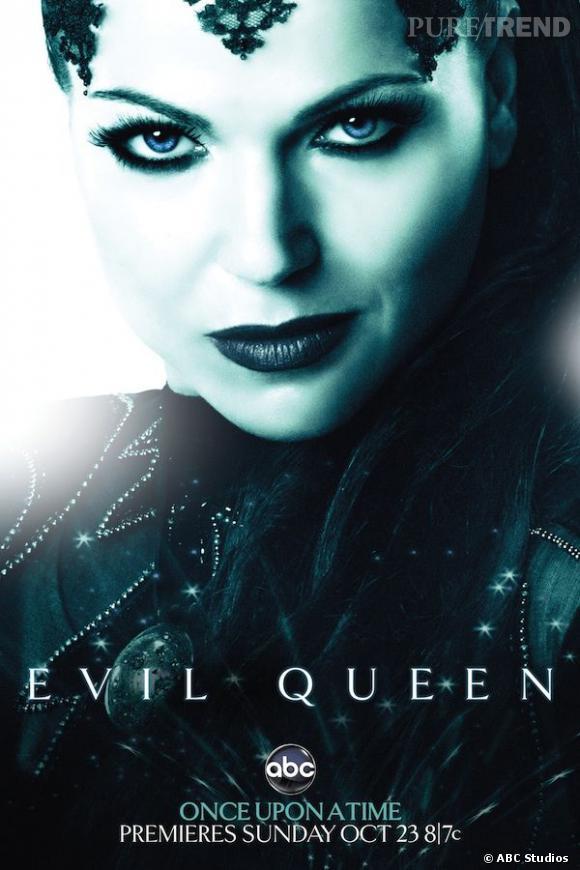 La méchante reine, c'est la charismatique Lana Parrilla.