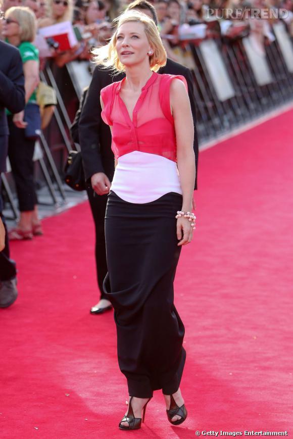 Les it-shoes de Cate Blanchett : les T-Bar Prismick de Roger Vivier