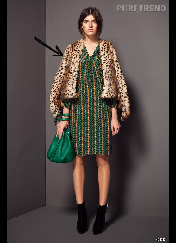 Comment porter le manteau cet hiver ?      Comme chez Bimba & Lola on assume la manteau en moumoute léopard ! Régressif et glamour.      Collection Automne-Hiver 2012/2013