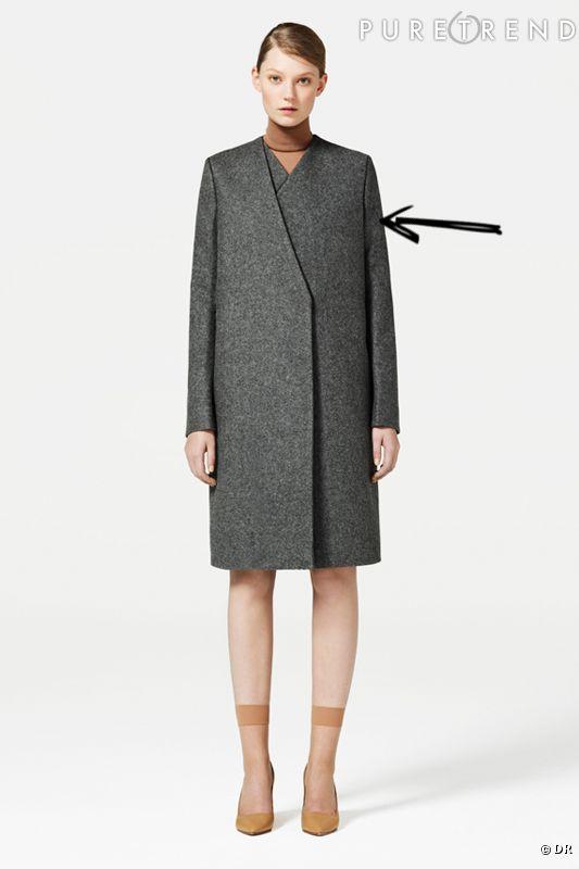 comment porter le manteau cet hiver comme chez cos on mise sur un manteau strict fermeture