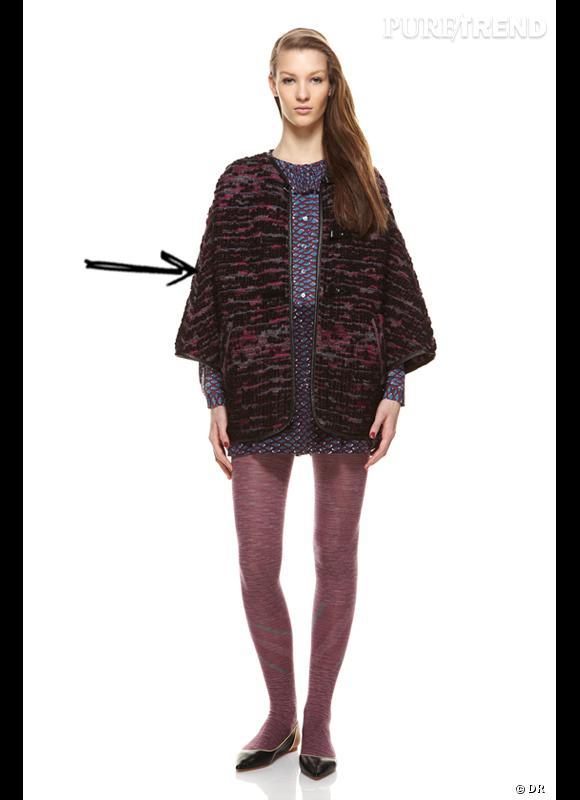 Comment porter le manteau cet hiver ?      Comme chez M Missoni on adopte le manteau façon tweed.     Collection Automne-Hiver 2012/2013