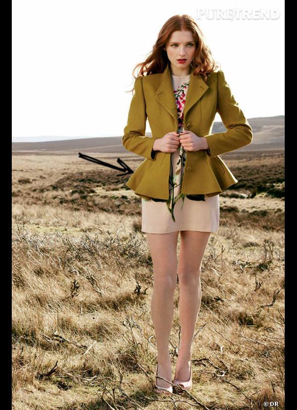 Comment porter le manteau cet hiver ?      Comme chez Ted Baker le manteau est ultra chic grâce à sa coupe façon péplum.      Collection Automne-Hiver 2012/2013