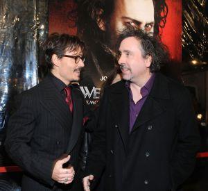 Tim Burton a une muse : son nom ? Johnny Depp, acteur fétiche et ami dans la vie.