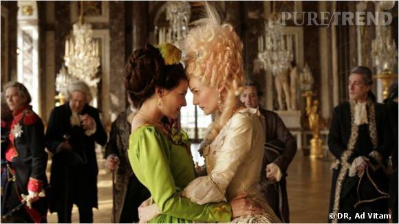 """""""Les Adieux à la Reine"""", avec Virginie Ledoyen et Diane Kruger."""