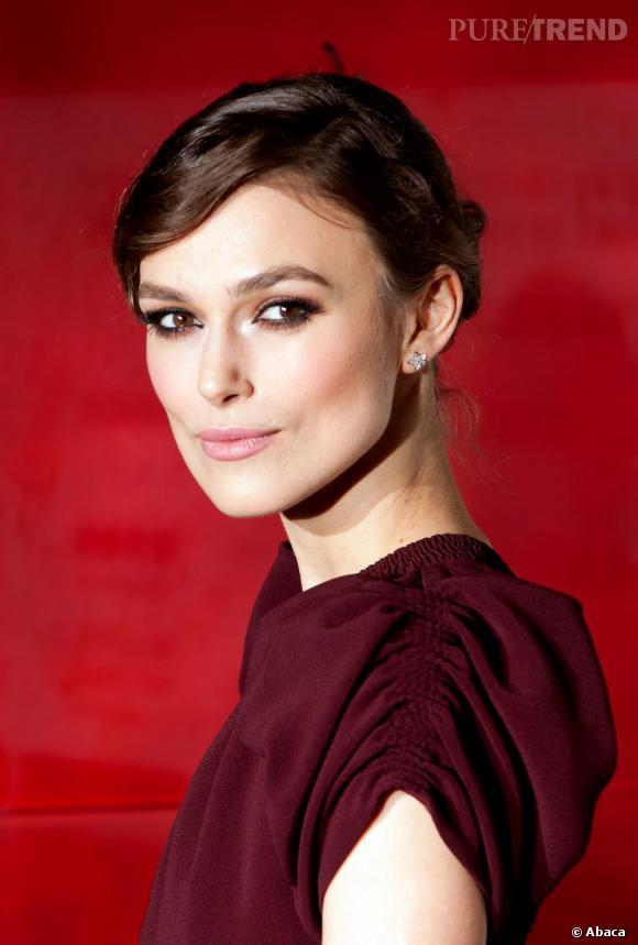 Les plus beaux make-up de 2012 : Keira Knightley, tout simplement envoûtante sur le tapis rouge londonien.