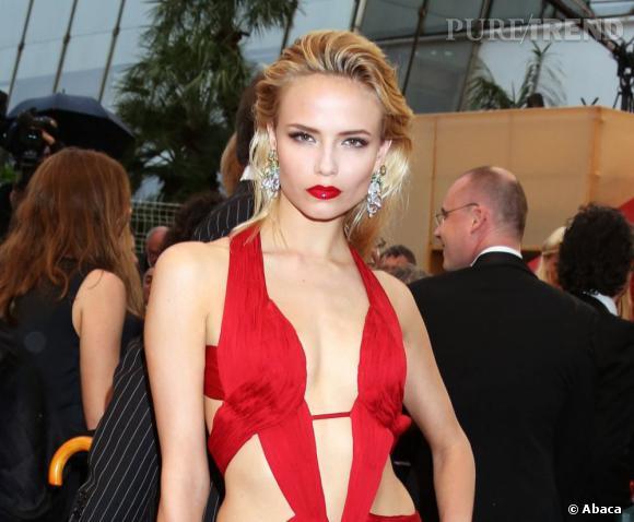 Les plus beaux make-up de 2012 : Natasha Poly nous scotche avec ce maquillage des plus glamour, lui aussi vu au Festival de Cannes.