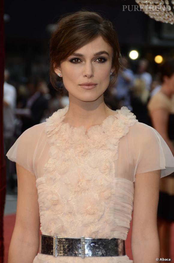 Les plus beaux make-up de 2012 : Elégante et mystérieuse, Keira Knightley prouve qu'elle est une des valeurs sûres sur le tapis rouge.