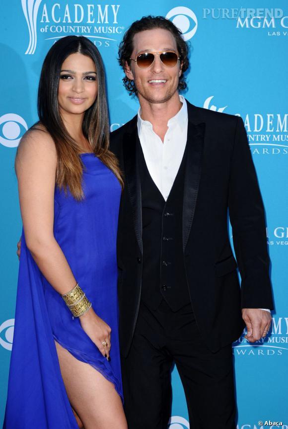 Après 6 ans et deux enfants, Matthew McConaughey et Camilla Alves se sont unis le 9 juin 2012.