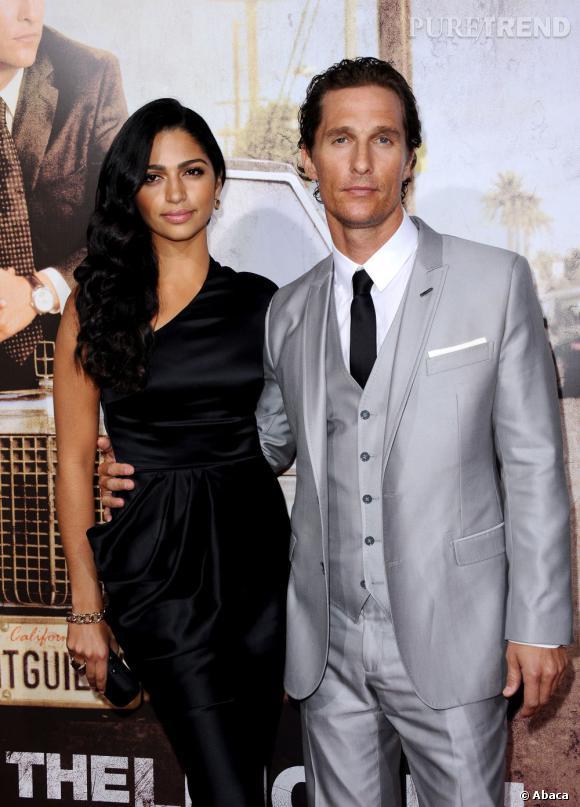 Matthew McConaughey et Camilla Alves accueillent leur troisième enfant, Livingston.