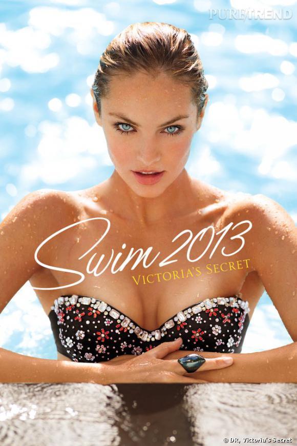 Candice Swanepoel dévoile le nouveau catalogue Victoria's Secret.