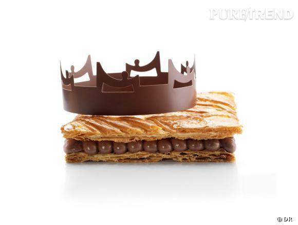 Galette des rois au chocolat Akosombo de La Maison du Chocolat, 29 € (4 personnes)
