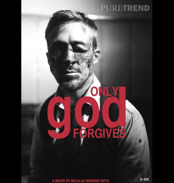 """Ryan Gosling fait très peur sur l'affiche d'""""Only God Forgives""""."""