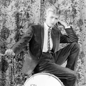 """David Bowie a fait ses débuts dans les années 60 avant de connaître le succès avec le titre """"Space Oddity""""."""